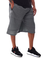 Akademiks - Tech Fleece Shorts With Zip Pockets (B&T)-2626156