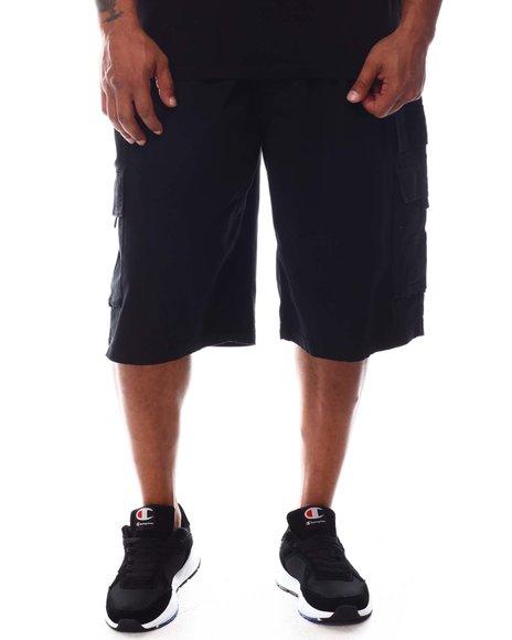 Akademiks - Ribbed Waistband Cargo Shorts (B&T)