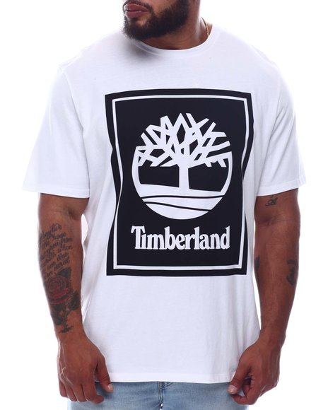 Timberland - SS STACK LOGO TEE