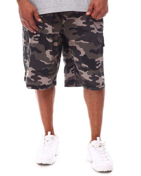 Akademiks - Pull On Cargo Shorts (B&T)