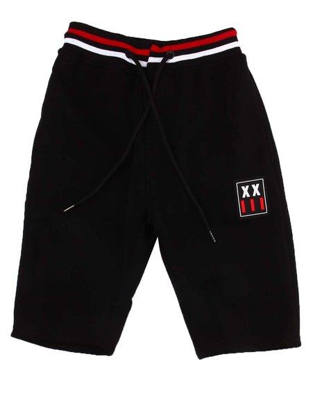 Arcade Styles - Patch Fleece Shorts (8-20)