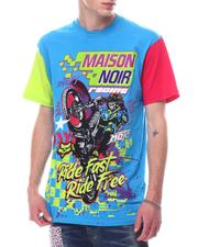 MAISON NOIR - Motoclub Color Block Tee-2627799