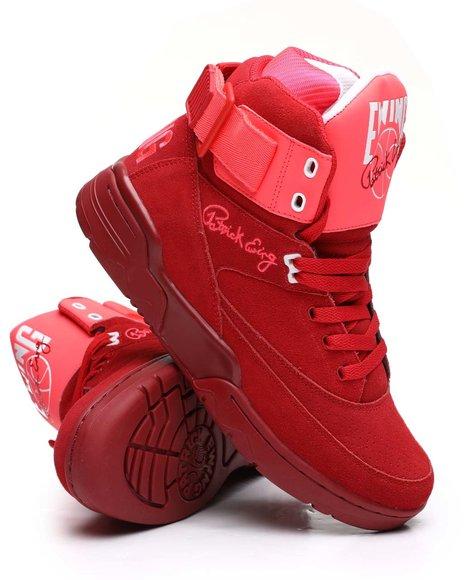 EWING - Ewing 33 Hi Red Sneakers