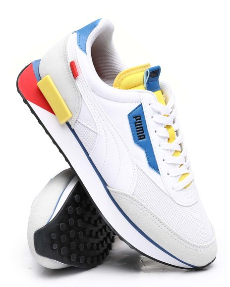 Puma - Future Rider Neon Play Mesh Sneakers