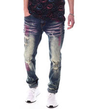 Create 2MRW - RIP & REPAIR ALLOVER COLOR STITCH Jean-2627367