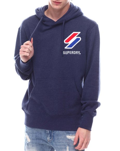 Superdry - SPORTSTYLE APPLIQUE HOODIE