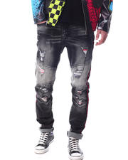 Create 2MRW - RIP & REPAIR W/ NEON COLOR PATCH Jean-2627334