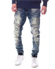 Jeans & Pants - Moto Jean w Neon Patch Detail-2627248