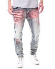 Jeans & Pants - RIP & REPAIR ALLOVER COLOR STITCH Jean-2627285