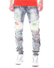 Jeans & Pants - RIP & REPAIR W/ NEON COLOR PATCH Jean-2627381