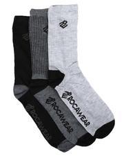 Rocawear - 3Pk Crew Socks-2623579