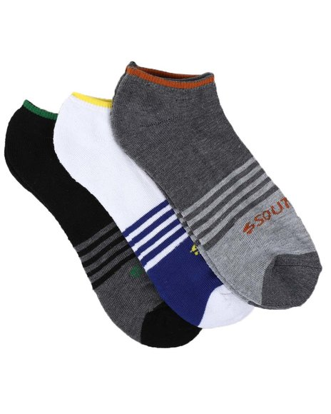 Southpole - 3Pk No Show Cushion Socks