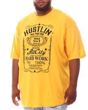 Men - Hustlin All The Time T-Shirt (B&T)-2625279