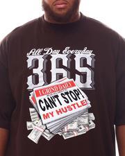 Big & Tall - 365 Can't Stop My Hustle T-Shirt (B&T)-2625283