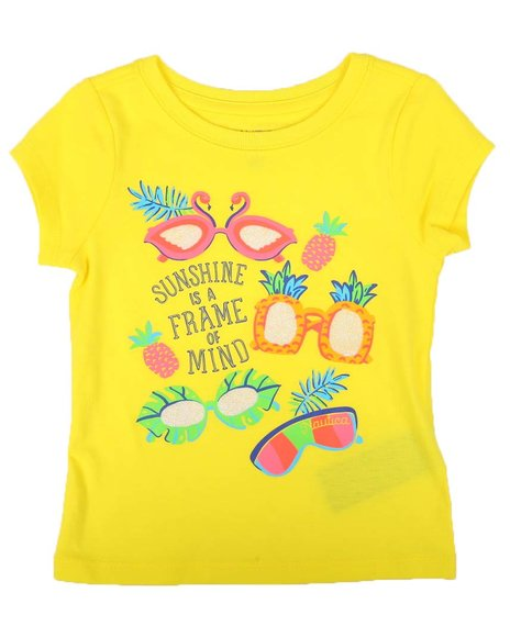 Nautica - Frame of Mind Graphic Tee (2T-4T)
