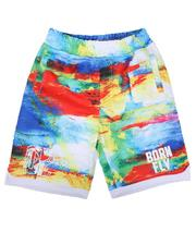 Bottoms - Tie Dye Mesh Basketball Shorts (4-7)-2627348