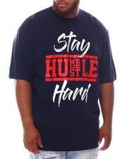 Men - Stay Humble Hustle Hard T-Shirt (B&T)-2625300
