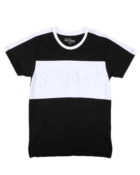 Arcade Styles - Strong Embossed Color Block T-Shirt (8-20)