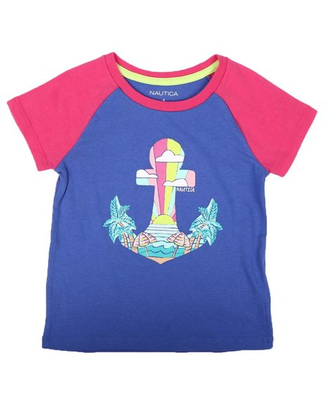 Nautica - Anchor Knockout Print Graphic Tee (4-6X)