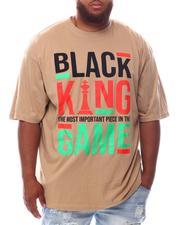 Men - Black King Game T-Shirt (B&T)-2625470