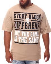 Big & Tall - Different Block Same Game T-Shirt (B&T)-2625787