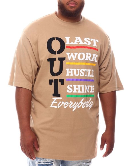 Buyers Picks - Work Hard Hustle Hard T-Shirt (B&T)