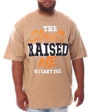 Men - Streets Raised Me T-Shirt (B&T)-2625633