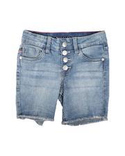 Vigoss Jeans - Button Up Denim Bermuda Shorts (7-14)-2625721