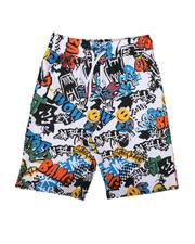 Boys - Graffiti All Over Print Shorts (8-20)-2625772