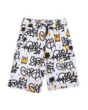 Boys - Graffiti All Over Print Shorts (8-20)-2625777