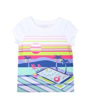Tops - Poolside Graphic Tee (4-6X)-2626570
