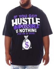 Big & Tall - Hustle & Grind T-Shirt (B&T)-2625123