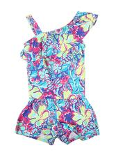 Rompers - Watercolor Floral Romper (7-16)-2626585