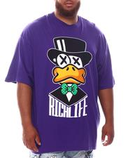 Men - Rich Life T-Shirt (B&T)-2625597