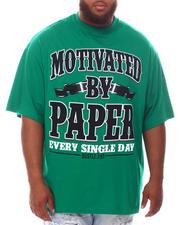 Men - Motivated By Paper T-Shirt (B&T)-2625816