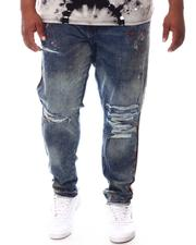 Jordan Craig - Distressed Tapered Denim Jeans (B&T)-2626117