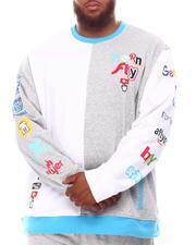 Pullover Sweatshirts - Split Crewneck (B&T)-2625015