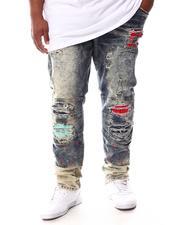 Makobi - Shredded Jeans With Paint Splatter Spots (B&T)-2625062