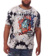 SMOKE RISE - Demon Tie Dye T-Shirt (B&T)-2620798