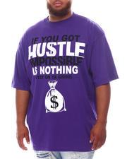 Big & Tall - Hustle & Grind T-Shirt (B&T)-2625136