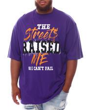 Men - Streets Raised Me T-Shirt (B&T)-2625211