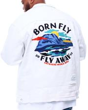 Denim Jackets - Fly Away Denim Jacket (B&T)-2628857