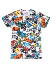 T-Shirts - Graffiti All Over Print T-Shirt (8-20)-2625747