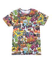 T-Shirts - Graffiti All Over Print T-Shirt (8-20)-2625752