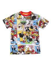 T-Shirts - Popeye Comic Print Ringer Tee (8-20)-2625834