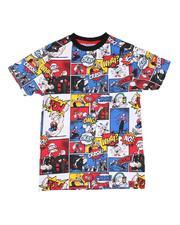 T-Shirts - Popeye Comic Print Ringer Tee (8-20)-2625848