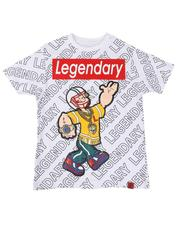 T-Shirts - Popeye Legendary Repeat Print Tee (8-20)-2626530