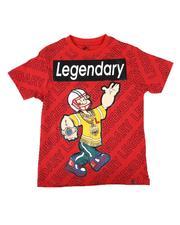 T-Shirts - Popeye Legendary Repeat Print Tee (8-20)-2626544