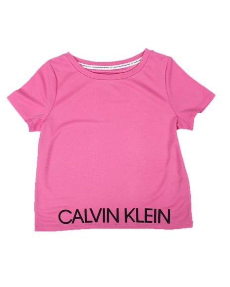 Calvin Klein - Logo Mesh Tee (7-14)