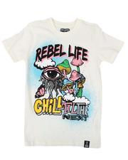 Rebel Minds - Rebel Life Tee (8-20)-2628326